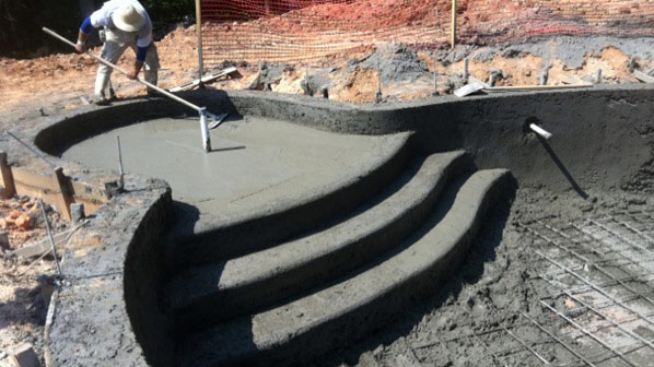 Gunite Swimming Pools Inground Swimming Pools Pool Productions