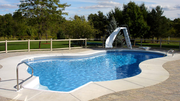 in ground swimming pool. Pool Productions Inground Swimming Pools In Ground